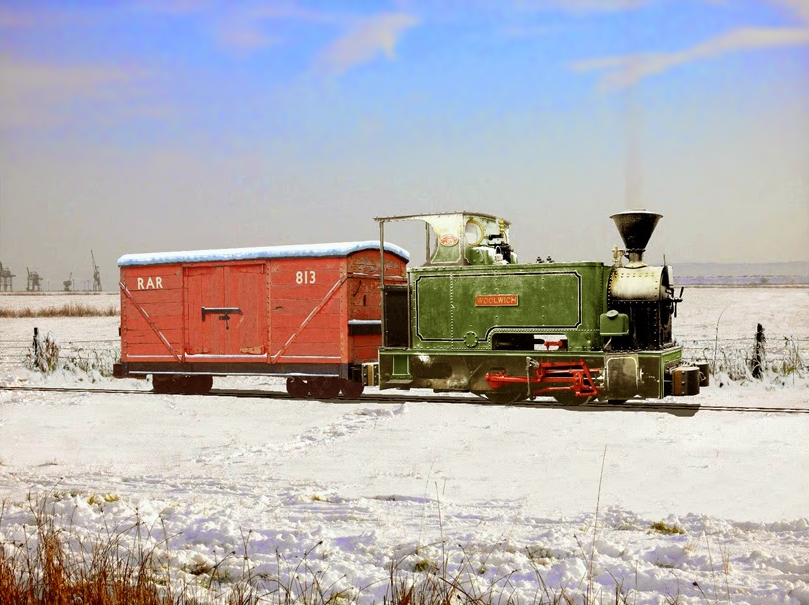 Magazine/Tump Locomotive
